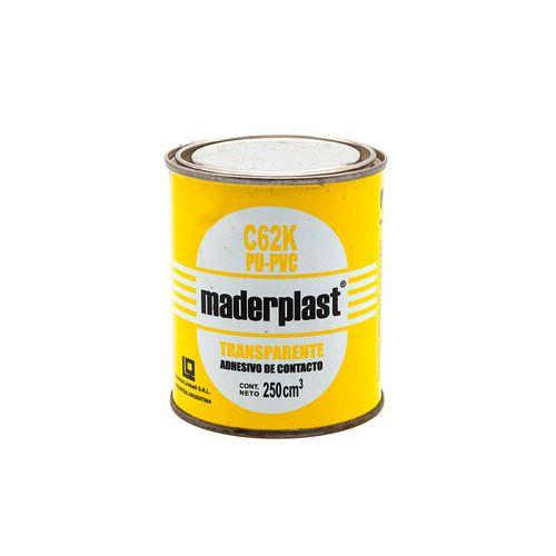 Adhesivo Maderplast C-62 K x 1/4 litro
