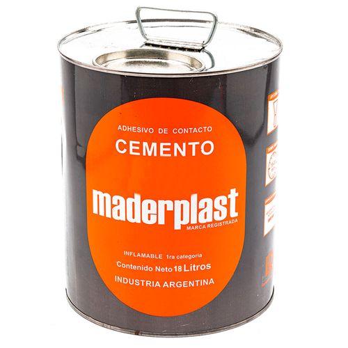 Cemento de aparar x 18 litros