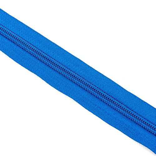 Cierre cadena Nº 6 - Azul francia