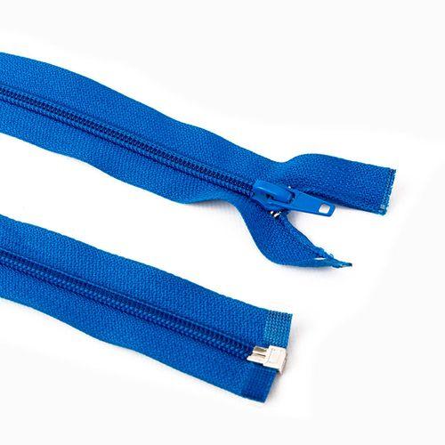 Cierre desmontable cadena 6 de 80 cm - Azul francia