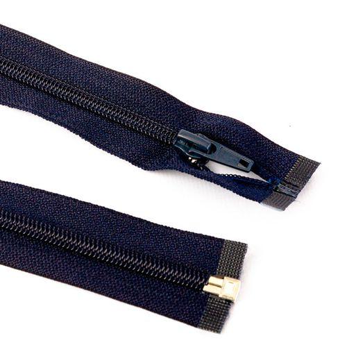 Cierre desmontable cadena 6 de 80 cm - Azul marino