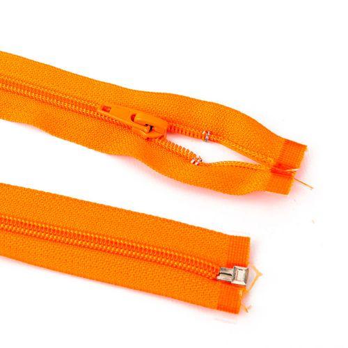 Cierre desmontable cadena 6 de 80 cm - Naranja