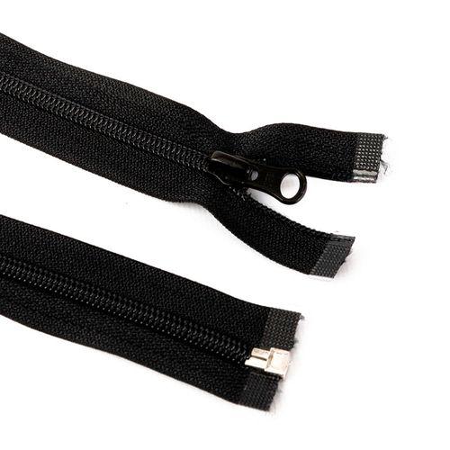 Cierre desmontable cadena 6 de 80 cm - Negro