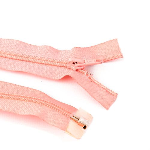 Cierre desmontable cadena 6 de 80 cm - Rosa