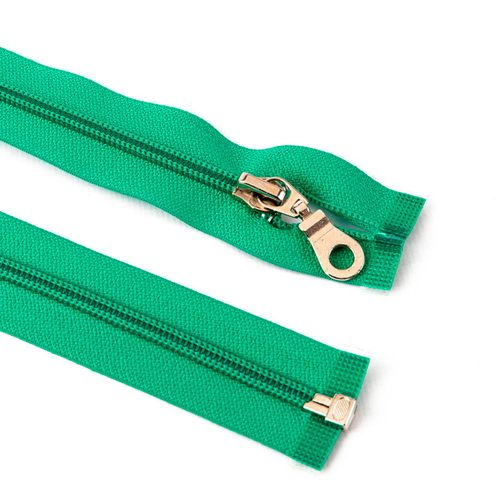 Cierre desmontable cadena 6 de 80 cm - Verde agua