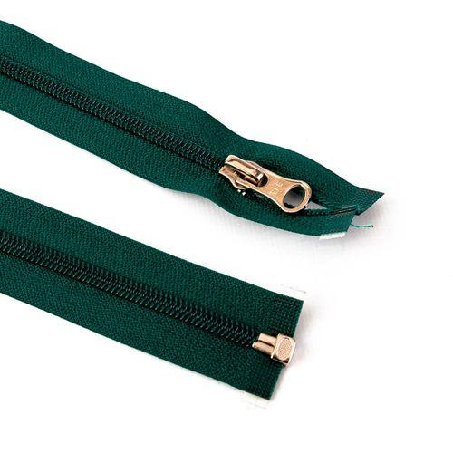 Cierre desmontable cadena 6 de 80 cm - Verde inglés