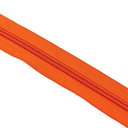 Cierre cadena Nº 6 - Naranja