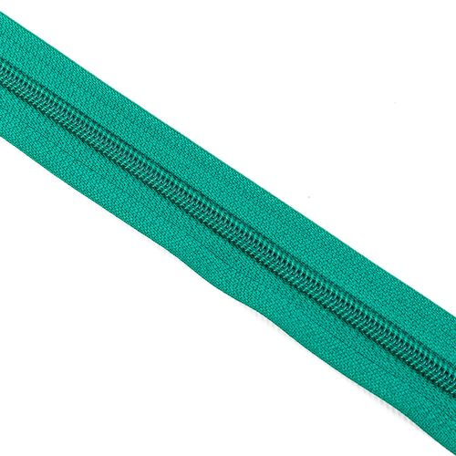 Cierre cadena Nº 6 - Verde billar