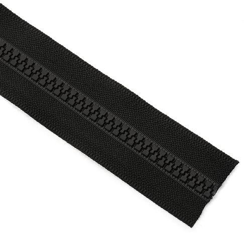 Cierre YKK diente de perro cadena 5 x metro - Negro