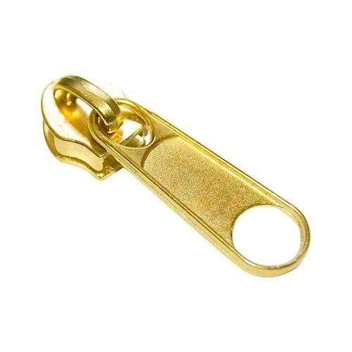 Deslizador cierre cadena 6 - Dorado