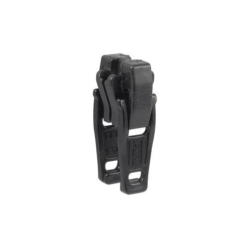 Deslizador diente de perro cadena 5 YKK - Plástico doble - Negro