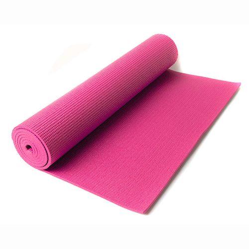 Mat de yoga de 4 mm - Fucsia