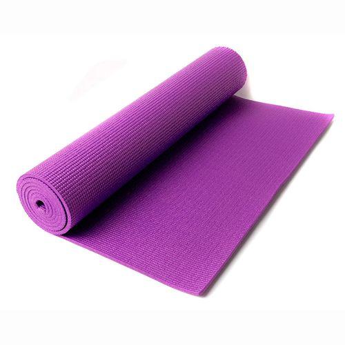 Mat de yoga de 6 mm - Violeta