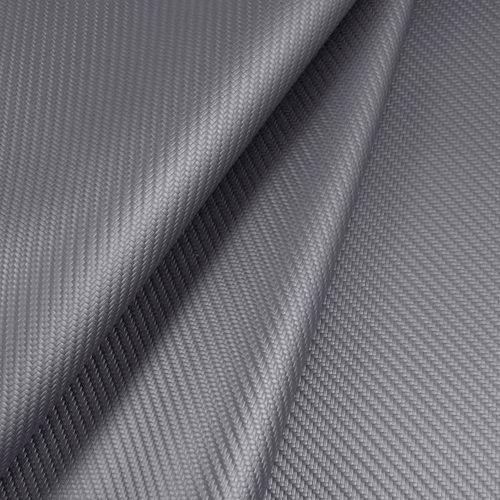 Cuerina náutica carbon fiber - Silver