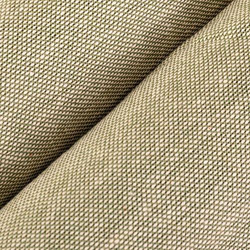 Tela tipo lino lisa - Verde prado