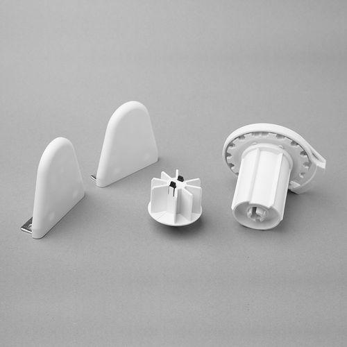 Mecanismo de 38 mm para cortinas roller - Blanco