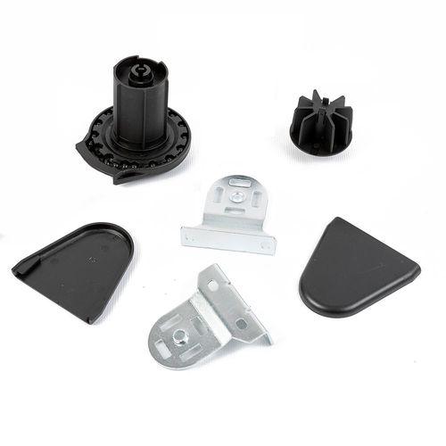 Mecanismo de 38 mm para cortinas roller - Negro
