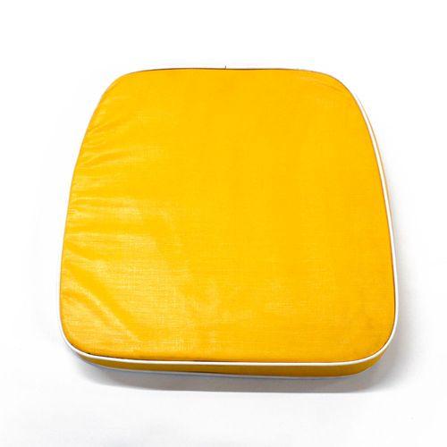 Almohadón de jardín estándar - Liso - Amarillo