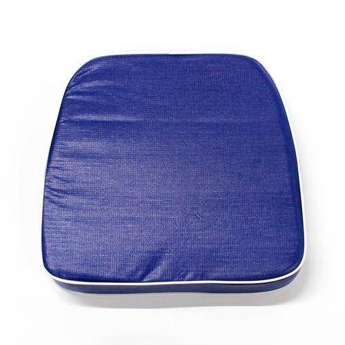 Almohadón de jardín estándar - Liso - Azul