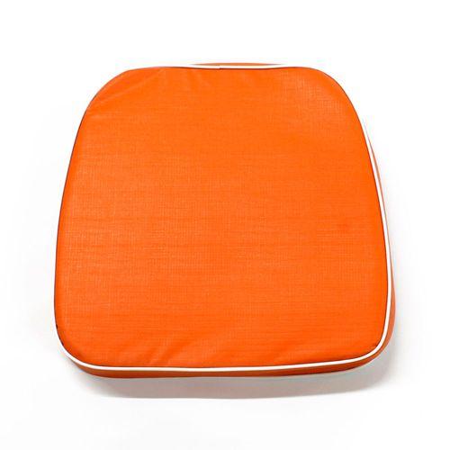 Almohadón de jardín estándar - Liso - Naranja