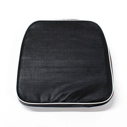 Almohadón de jardín estándar - Liso - Negro