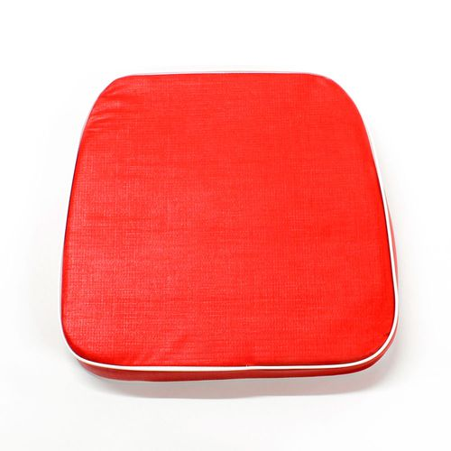 Almohadón de jardín estándar - Liso - Rojo