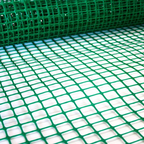 Cerramiento plástico - Cuadrícula chica - Verde