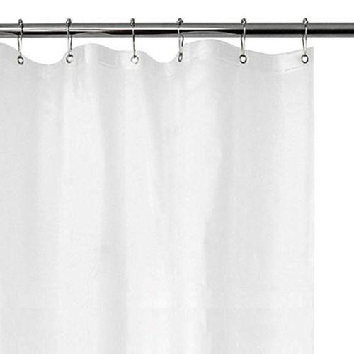 Protector plástico para cortina de baño