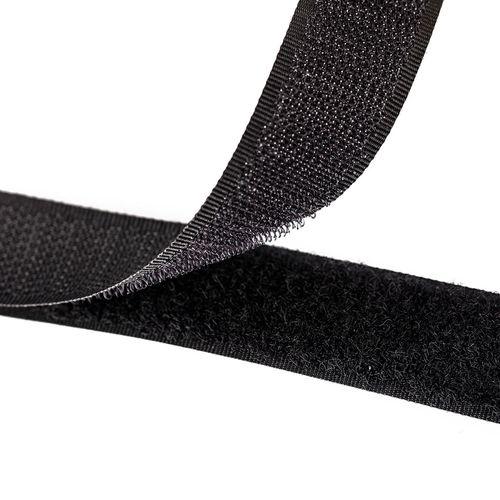 Velcro 25 mm - Negro
