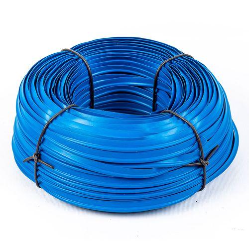 Vivo plástico para tapicería - Azul francia