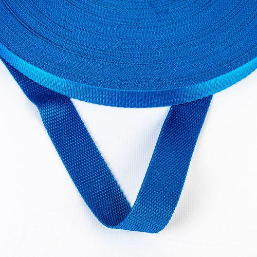Correa polipropileno de 25 mm - Azul francia