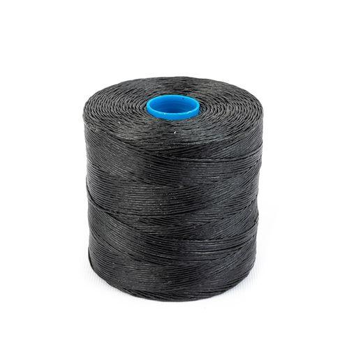 Hilo encerado de nylon Nº 6 - Negro