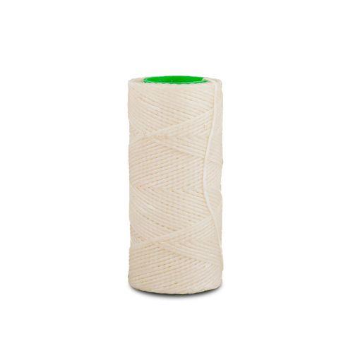 Hilo encerado de nylon Nº 7 por 70 mts - Blanco