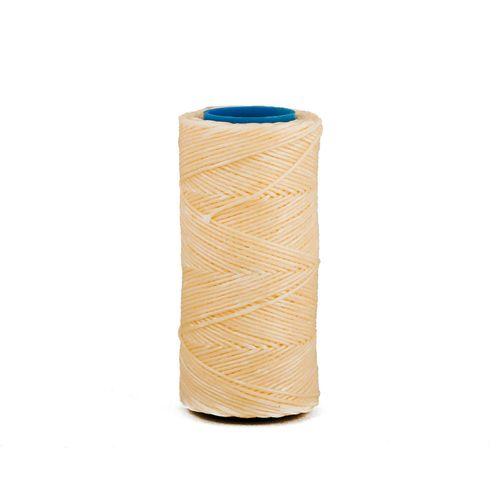 Hilo encerado de nylon Nº 7 por 70 mts - Crudo