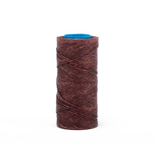 Hilo encerado de nylon Nº 7 por 70 mts - Marrón
