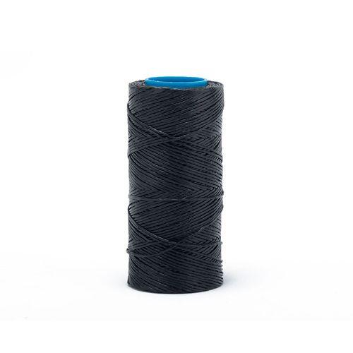 Hilo encerado de nylon Nº 7 por 70 mts - Negro