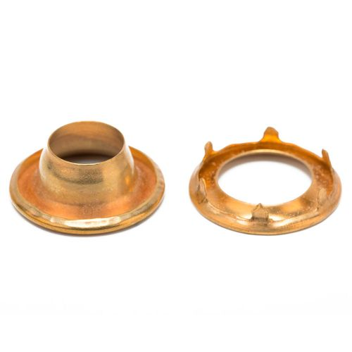 Ojal patente de bronce Nº 4 x 144 unidades