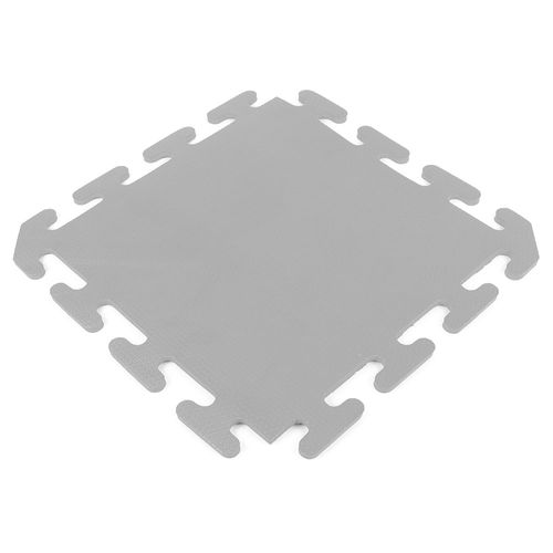Piso encastrable de goma eva de 50 x 50 cm - Gris Claro