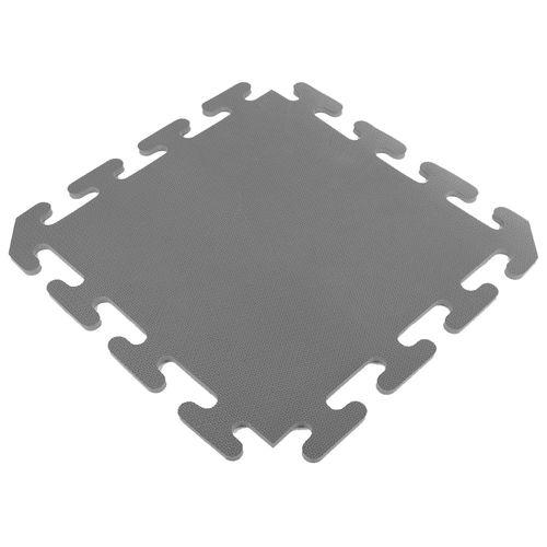 Piso encastrable de goma eva de 50 x 50 cm - Gris oscuro