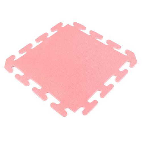Piso encastrable de goma eva de 50 x 50 cm - Rosa viejo