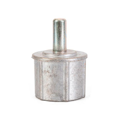 Calota redonda - para tubo de 50 mm