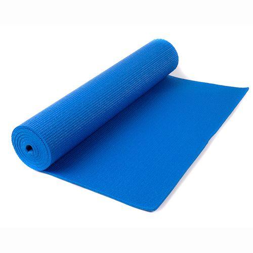 Mat de yoga de 4 mm - Azul